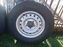 4 x 14 x 5.5 stock hilux rims and tyres Waterford Logan Area Preview