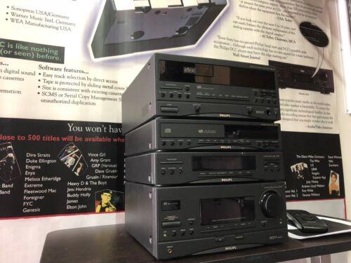 DCC Philips FW91 mini set Digital Compact Cassette Restored by the DCC Museum