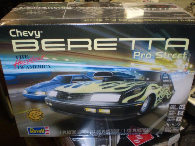 new release plastic model car kitsRevell 1 25 Chevy Beretta Pro Street 857168 Release  eBay