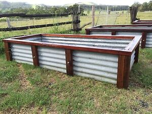 corrugated raised garden beds Garden Gumtree Australia Free