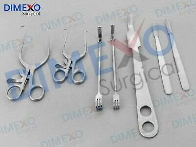 Orthopedic Knee Surgery Set Of 7 Pieces Surgical Orthopedics Instruments