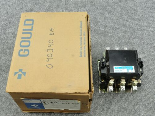 New Unused Gould A133D Size 2 Lighting Contactor 480 Volt 3 Phase A133D48