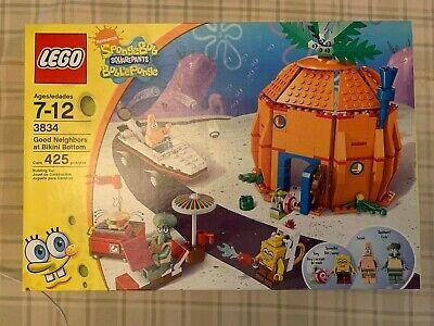 New Lego 3834 Sponge Bob Square Pants Good Neighbors at Bikini Bottom