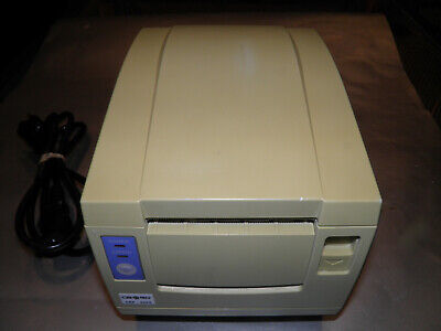 Citizen Cbm-1000 Rf120-2 Thermal Pos Receipt Printer Serial W Power Cord
