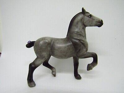 "Breyer #410512 Belgian ""Percheron"" dapple grey stablemate 2009 Parade of Breeds"
