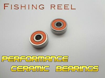 ABU  6500 CERAMIC ABEC 9 TOURNAMENT SPOOL BEARINGS *Stainless** 25/% off clearanx