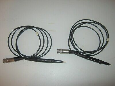 Quantity2 Oscilloscope Scope Probes 10x Unbranded Length 55 Inches.