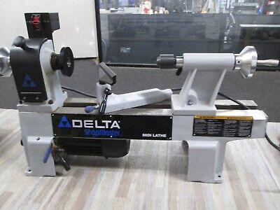 Delta Model La 200 Wood Lathe Shopmaster Midi Mini Wood Working Hobby