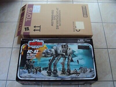 STAR WARS AT-AT WALKER HOTH VINTAGE COLLECTION 2010 HASBRO ESB SEALED TVC