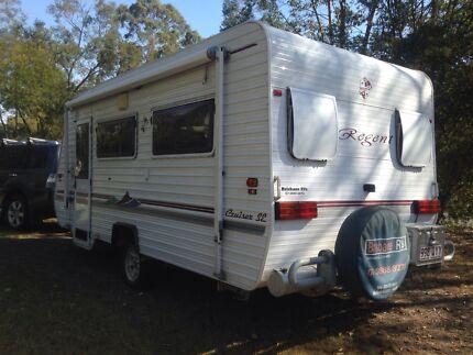 Regent Caravan suite couple AC excellent condition