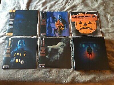 John Carpenter Halloween 3 Soundtrack (HALLOWEEN 1 2 3 4 5 LP Complete Soundtrack OST Box Set Mondo John Carpenter)