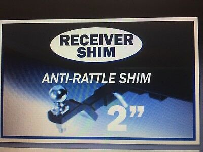 2''  HITCH RECEIVER SHIM ANTI-RATTLE TOWING