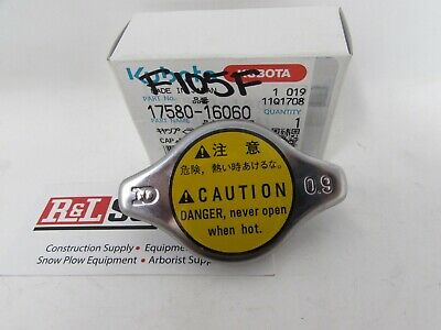 New Genuine Kubota Radiator Cap 17580-16060