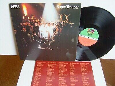 ABBA - Super Trouper  XSD 16023 Canada LP 1980 Atlantic  The Winner Takes It All