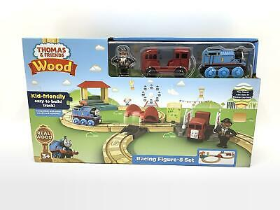 Thomas And Friends Fisher-Price Wood Racing Figure-8 Set