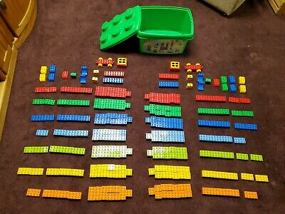 298 pcs, with 2004 LEGO/Duplo #5352 Building Blocks Set Ages 2-5