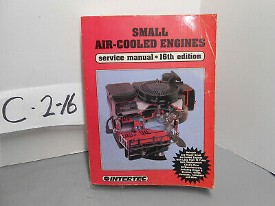 Intertec Small Air Cooled Engine Lawngarden Service Manual Ses-16