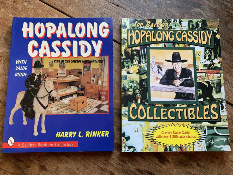 TWO Hopalong Cassidy Collectibles Softcover Books