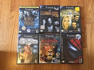 Various game cube games - make an offer