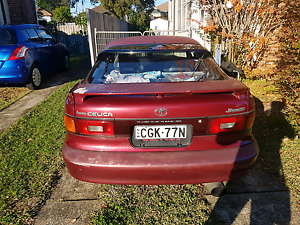 Toyota celica 1992 beams 11 month rego Bankstown Bankstown Area Preview