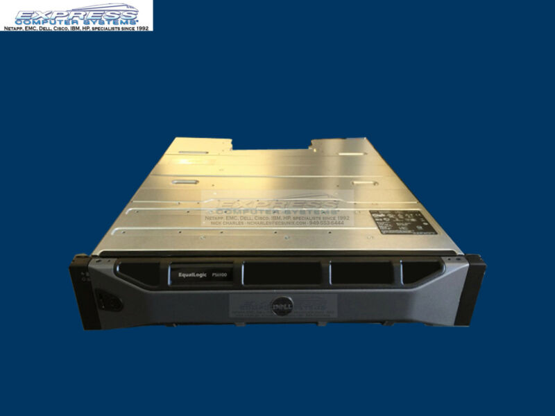 "Dell Equallogic Ps6100x 2u 24x 900gb 10k Sas 2.5"" Sff 1gbe San Ps6100 21.6tb"