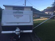 Windsor Windcheater Pop Top Caravan with Bunks Chittaway Bay Wyong Area Preview