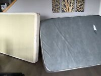 Free double bed & box spring