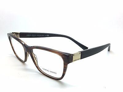Giorgio Armani gray deco gradient rose gold gorgeous Eyeglasses AR 7031 5236 52