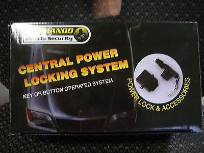 Commando Vehicle Security Central Power Locking System
