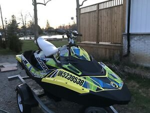 110hp! 3up Seadoo Spark with Trixx package