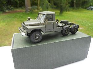 vehicule militaire cef acmat 1 50 tpk 635 tracteur 6x6 couleur kaki mib ebay. Black Bedroom Furniture Sets. Home Design Ideas
