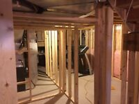 Handyman Services: Basement Framing,Shed,Deck,Garage Shelving