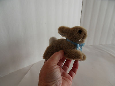 Steiff rabbit  miniature button chest tag made in Germany 1509