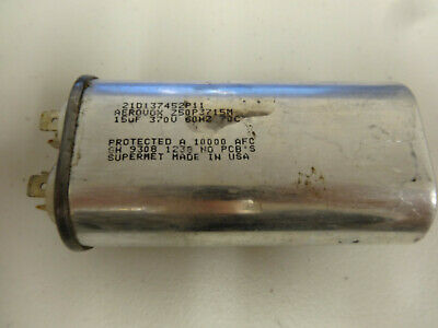 Aerovox Capacitor Z50p3715m 21d137452p11 15uf 370v 60hz-----used