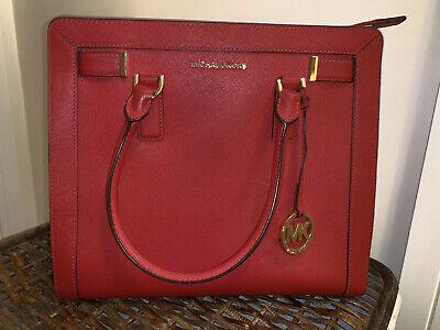 Michael Kors Gorgeous Red Handbag *EXCELLENT CONDITION&FAST (Michael Kors Delivery)