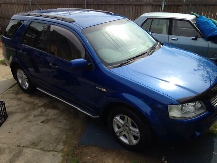 2007 Ford Territory Wagon Chisholm Tuggeranong Preview
