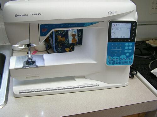 Husqvarna Viking Opal 650 Sewing Machine & Cover - 2014 - Pre-owned