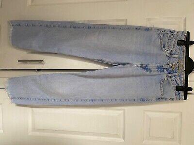Zara raw hem jeans size 10