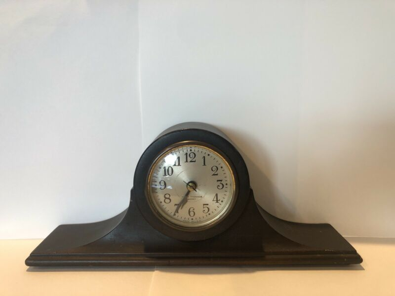 Vintage Early 20th Century Seth Thomas 8 Day Wind Up Mantle Clock - Tested/Works