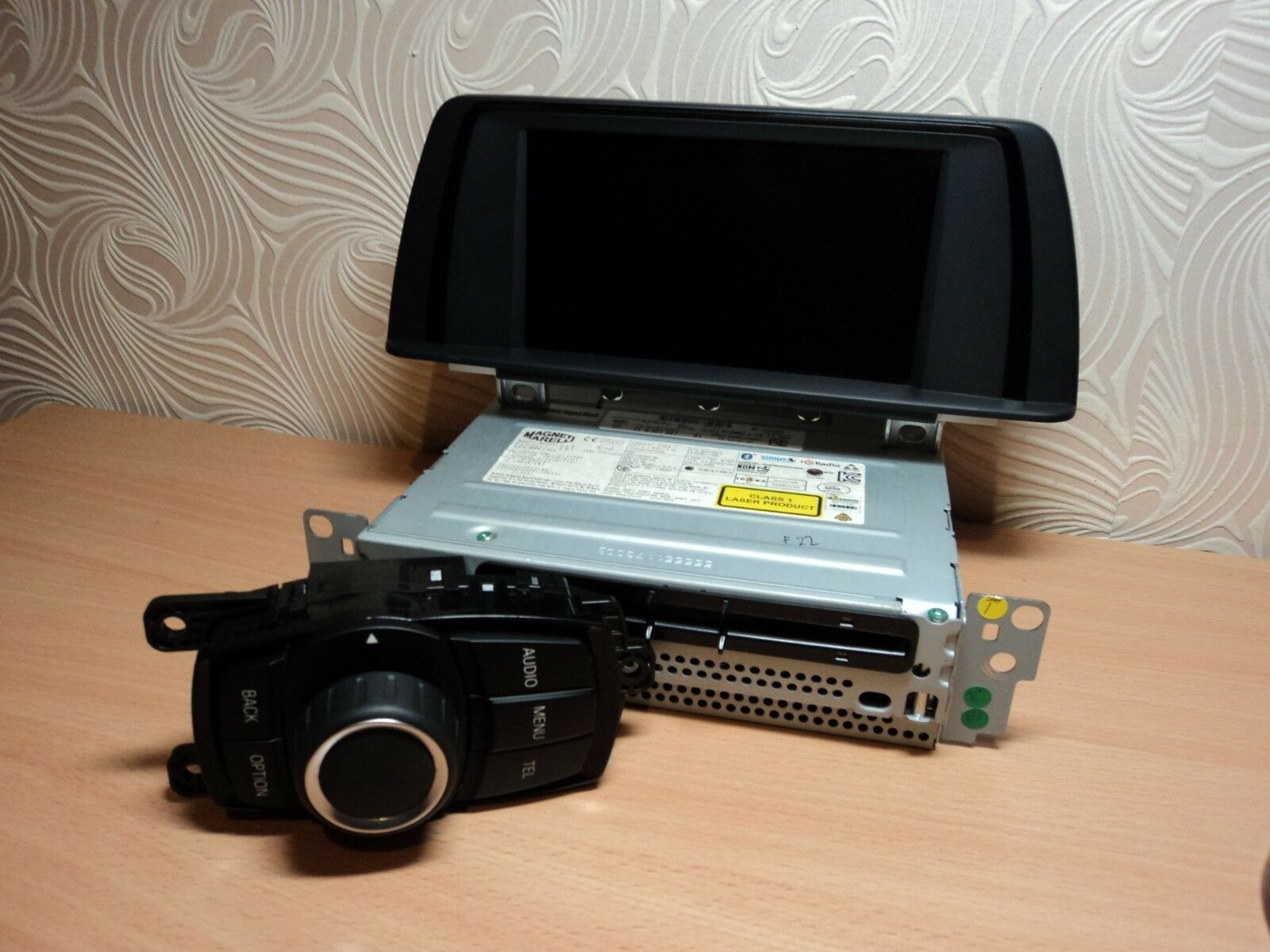 BMW F20 F21 F22 F23 Radio Professional CD Display Controler Set 9381307 9270391
