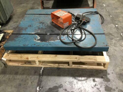 """Advance Lifts P-2536d Lift Table 2500 Lb  48"""" X 40"""" Parts Only #230bk"""