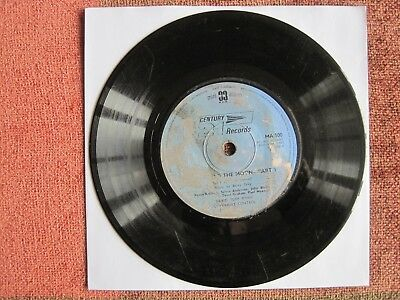 "SYLVIA ANDERSON, JOHN BLUTHAL ETC - JOURNEY TO THE MOON - 7"" 33 rpm vinyl record"