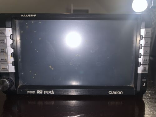 Clarion Max385VD DVD Audio Console Deck - Used - $99.99