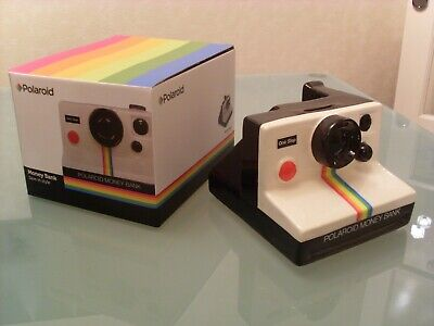 Polaroid Camera Ceramic Money Box Novelty Retro Gift, BNWB, new old stock,...