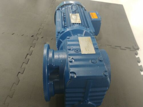 SEW GEARMOTOR 3HP 87 RPM OUT