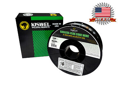 Kiswel Usa K-ngs E-71tgs 0.030in. Dia 10lb. Gasless-flux Core Wire Welding Wire