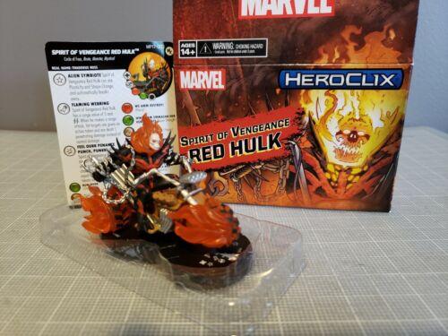 Heroclix Convention exclusive Spirit of Vengeance Red Hulk - wkMP17-002