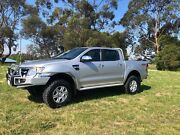 2014 Ford Ranger XLT PX Manual 4x4 Double Cab Trafalgar Baw Baw Area Preview