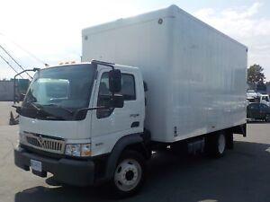 2010 International City Star CF 600 Diesel 16 Foot Cube Van w/ P
