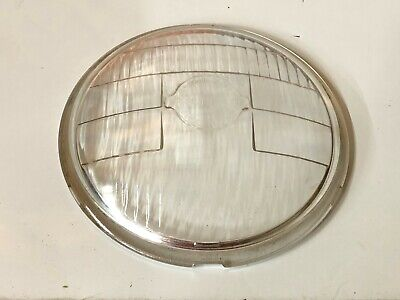 Vintage Tractor Light Early Ford Lens 9n 1939 1940 Cm Hall Lamp Co. Old Antique